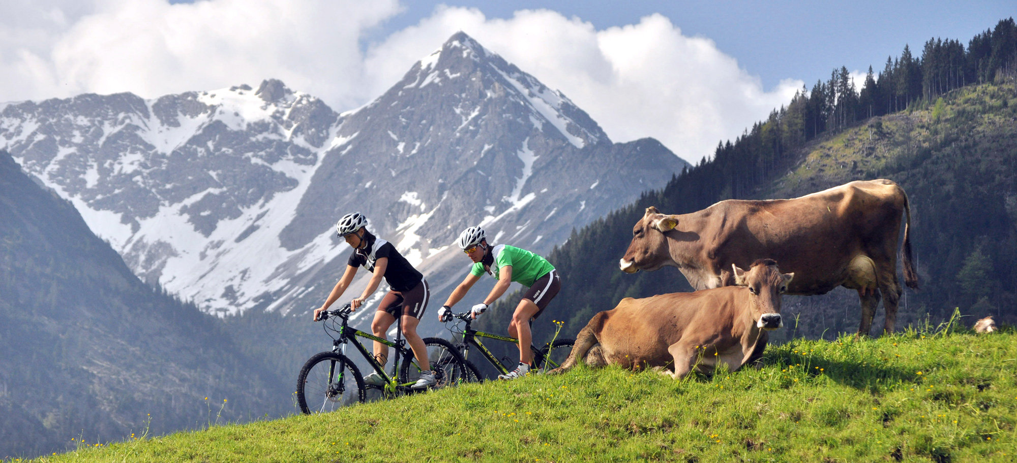 NOCG summer activites include mountain biking